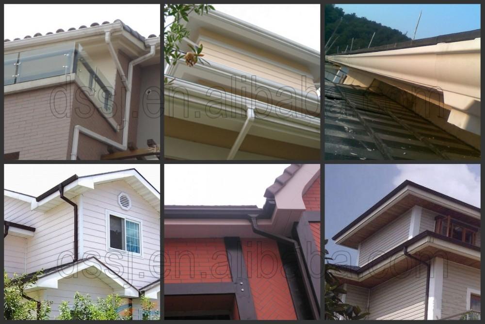Kenya Pvc Roof Drain Gutters Rain Collector Buy Kenya