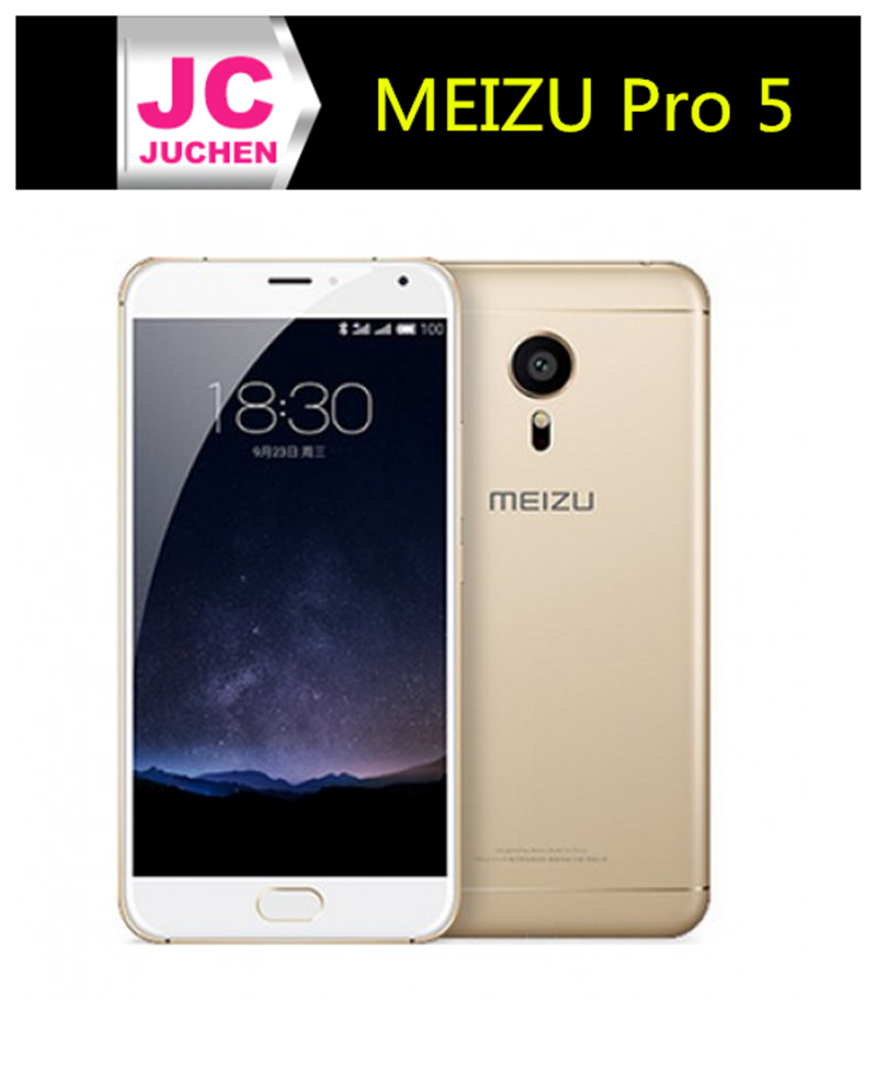 "Original Meizu Pro 5 MX5 PRO 4G LTE Mobile Phone Exynos 7420 Octa core 5.7"" 1920x1080 4GB RAM 64GB ROM 21.16MP Touch ID Gold"