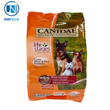 Large 50lb 40lb 30lb Pet Resealable Bulk Dog Food Bags