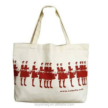 China wholesale 2017 new Custom Printed cotton canvas tote bag for shopping or promotion.