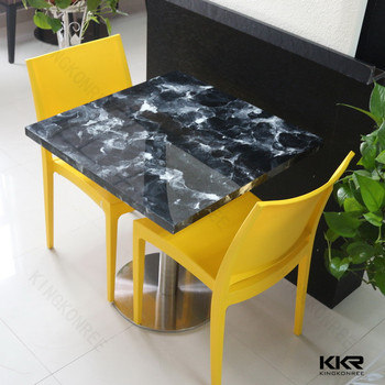 Made In China Unique Restaurant Furniture Dining Table