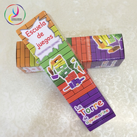 High quality Jenga children's toy corrugated box packaging