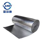 Bubble roll aluminum foil heat radiant barrier for metal building insulation mate material pack insulation ltd