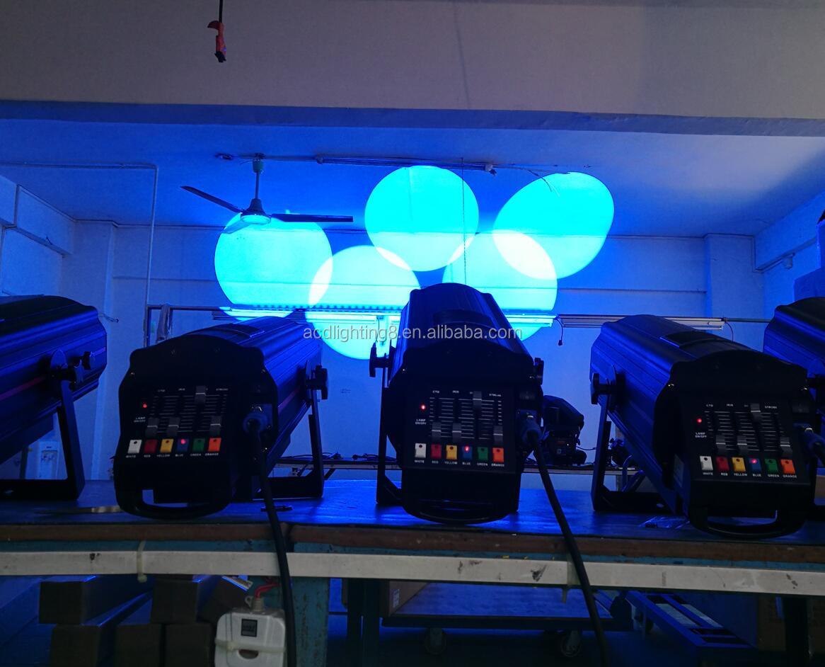 Хит продаж 1 шт. 350 Вт cob светодиоды белого цвета led сценический последующий прожектор dj эффект света