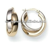 Newest Design Stainless Steel Hoop Huggie Earrings for Men and Women