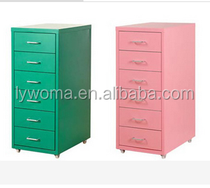 Korea Office lateral metal cabinet 2/ 3/ 4/6 drawer vertical steel filing cabinet