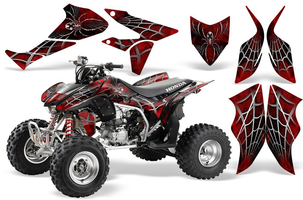 Buy Honda TRX 450R Graphics Kit - NITRO - Black Background