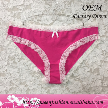 b33e3e4f03cc Pink color sexy panties cotton ladies underwear underwear with cheap price  cotton briefs for women