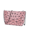 factory price promotional women zipper cosmetic bag with chain