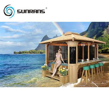 Sunrans waterproof outdoor spa Gazebo wooden Canopy  sc 1 st  Alibaba & Sunrans Waterproof Outdoor Spa Gazebo Wooden Canopy - Buy Spa ...