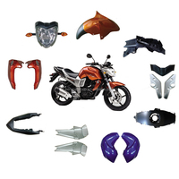 Factory direct sell fz16 motorcycle spare parts plastic body parts for fz16