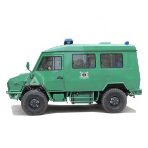 YLH2046RFDA RHD 4WD Diesel ICU Transit Medical Clinic Rescue Ambulance Van Design