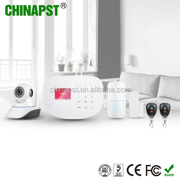 Hot GSM+GPRS + IP Camera SMS wifi wireless alarm system PST-WIFIS2W