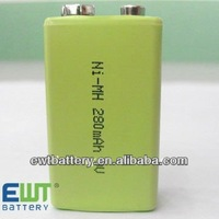 nimh 6f22 9v rechargeable battery nimh battery pack