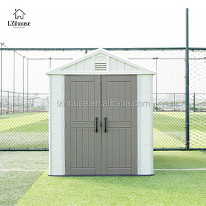 Wholesale Kit Homes Usa Shed 8x6 for Garden Storage Shed Plastic Backyard Storage Shed