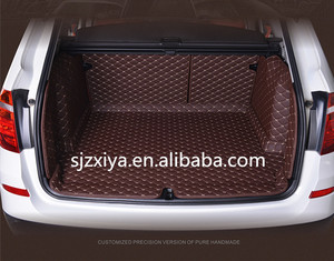 Wholesale surrounded odorless car mats/car trunk mats EVA/XPE leather material