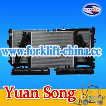 Forklift Spare Parts Radiator 233B2-10002