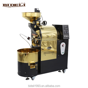 Newest model stainless steel 3kg small home coffee bean roasters/roasting equipment