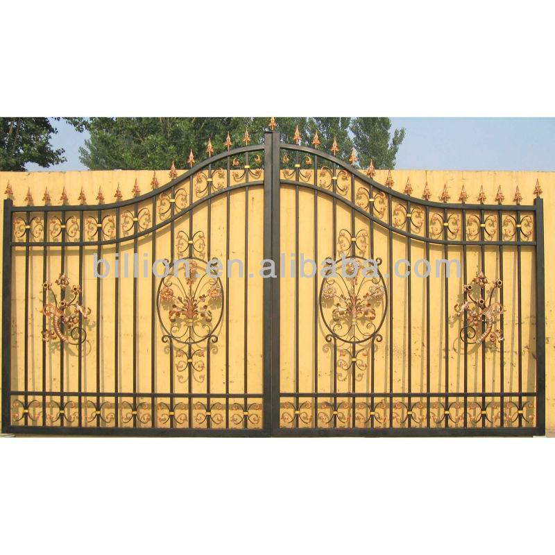 Galvanized Cheap Outdoor Steel Pipe Gate Design