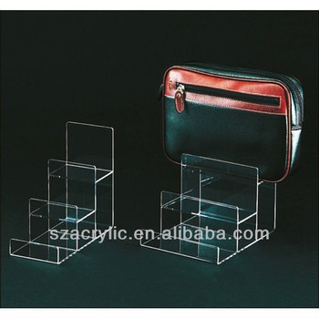 Acrylic Clutch Bag Display Stand