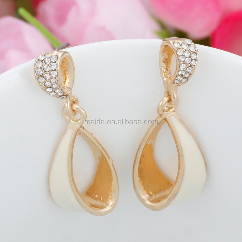 2014 Hot Fancy Ring Drop Design Gold Earring Models,Charm Golden ...