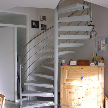 Beau Stainless Steel Spiarl Staircase Custom Delicate Spiarl Staircase Design  Internal Safe Spiral Staircase
