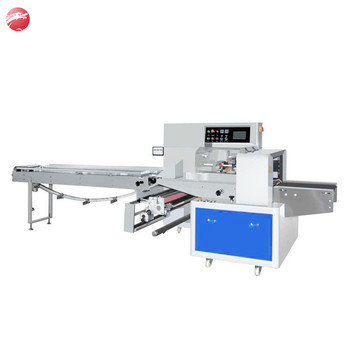 High speed kitchen stainless steel scourer flow packing machine