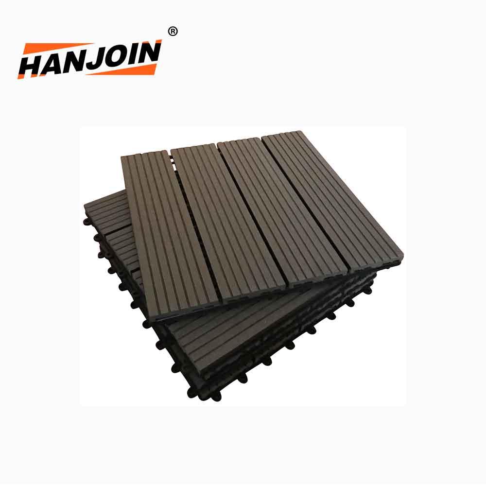 Genial Patio Floor Interlocking Tiles 30S30 Cedar Color