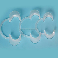 dental orthodontic silicon cheek retractor