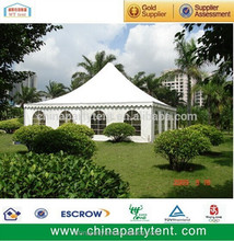 high peak pagoda tent for party or garden gazebo