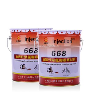 668 Hydrophobic Foaming Agent pu foam grouting material For Grouting pump