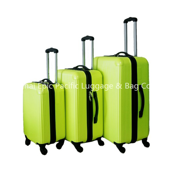 Cheap Custom 3 Piece Travel Luggage Sets ABS Suitcase Luggage