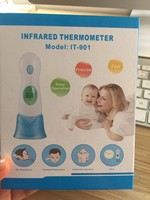 Factory direct Baby Digital thermometer Infrared Kids ear termometer / Children forehead thermometer
