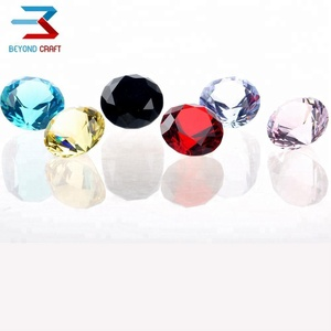 Mix Color Crystal Healing Diamond Gem Stone Fathers Day Gifts