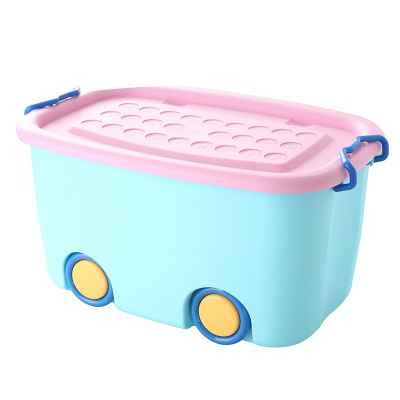 China Suppliers PP Material Plastic Storage Box, Storage Box With Wheel