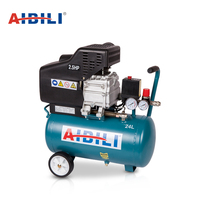 AIBILI portable low price 24L home spray painting piston types mini direct driven air compressor