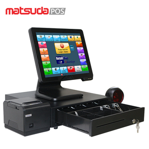 China Big Factory Good Price white cheap cash register for sale machine intel core i3 pos