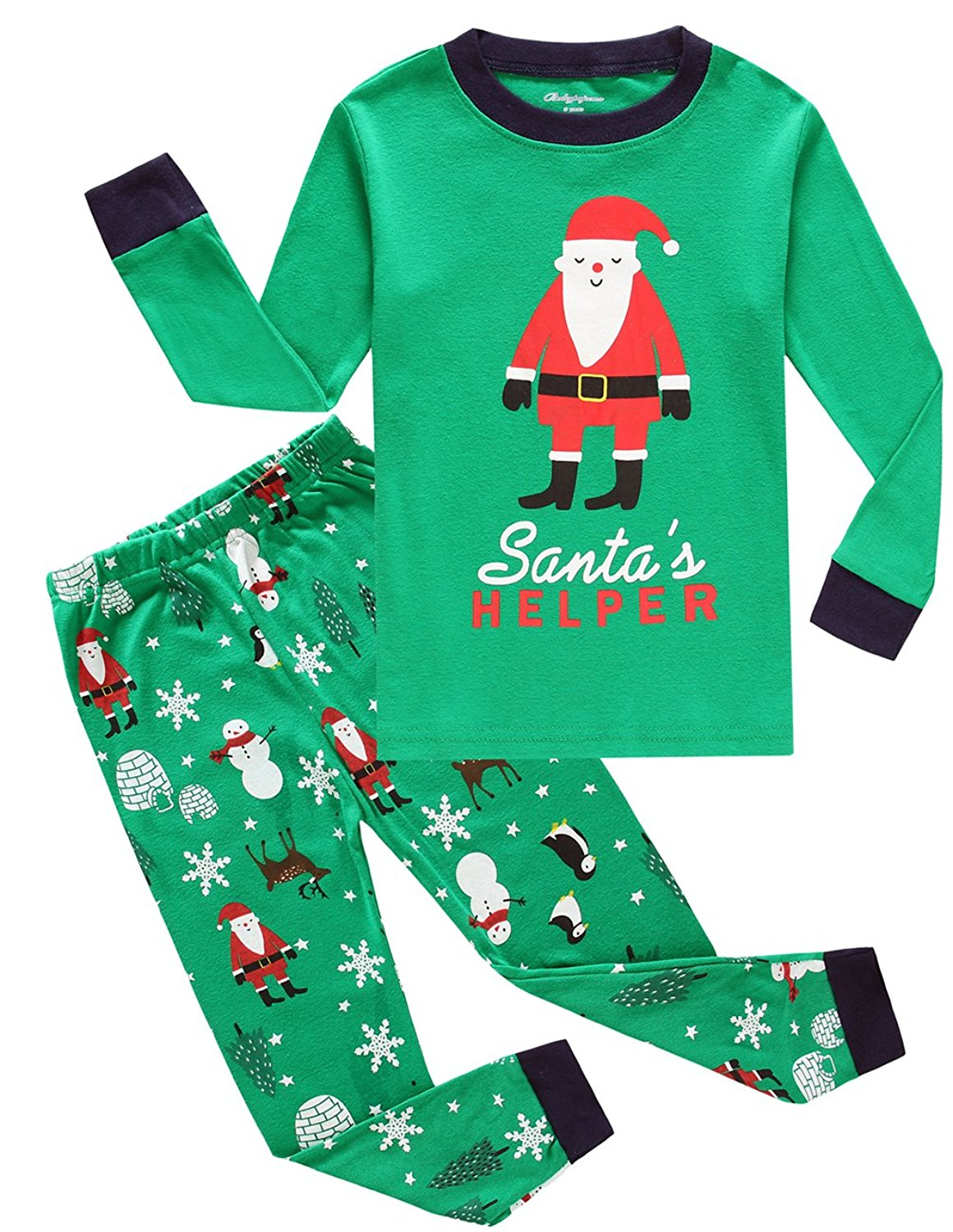 87b13a5a54 Get Quotations · Little bety Toddler Christmas Pajamas Big Boys Pjs Cotton  Kids Sleepwear Clothes