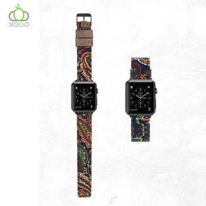 XGUO replacement leather strap for apple watch band