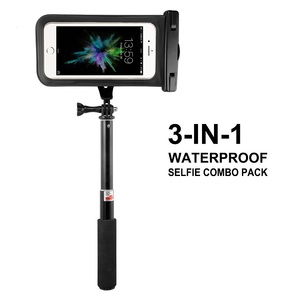 Jabees Handheld & Mini Tripod 3 in 1 Self-portrait Monopod Phone Bluetooth Selfie Stick with Remote Shutter for iPhone Sumsang