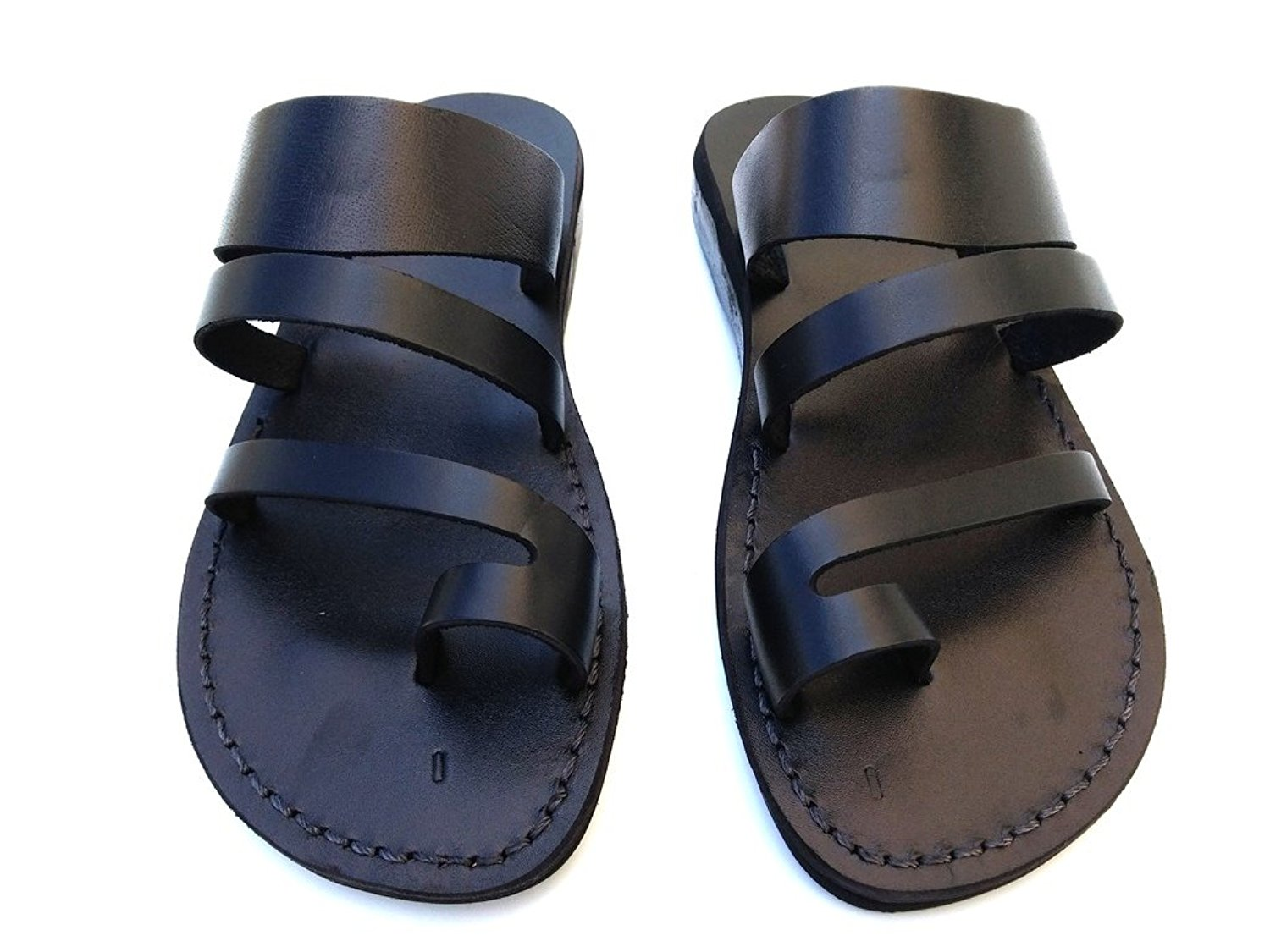 6ab21f3e446b MENS Genuine Leather Sandals