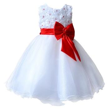 08d5e0e35e98e6d Детские платья для свадеб театрализованное белый первого святого кружева  причастие платья маленького малыша младший ребенок невесты. aliexpress.com