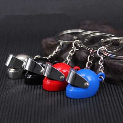 Promotional Gifts Creative New Car Keychain Helmet Keychain