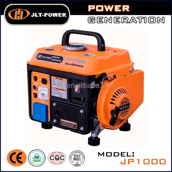 Generator manufacturer offer 650w gas generator!