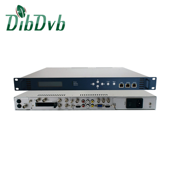 4K IP to SDI decoder up to 4 channels for digital tv headend