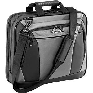 "Targus, 15"" Citylite Notebook Case Notebook Carrying Case 15"" Gray, Black ""Product Category: Supplies & Accessories/Notebook Carrying Cases"""