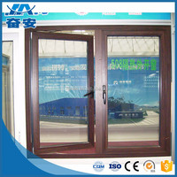 Aluminum Louver Air Conditioner Wood Grain Aluminum Windows Outdoor Louvers Turn On Or Off The Casement Window