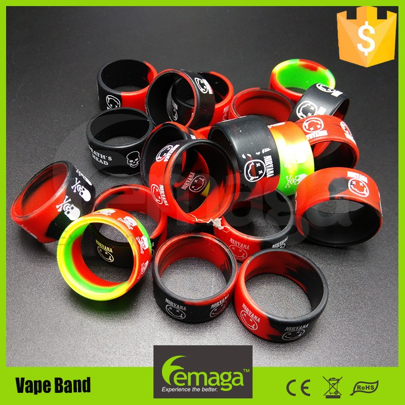 Alibaba new design colorful silicone ring,silicon case,resistance band set