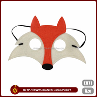 China wholesale fox shaped fashionable design cool halloween party mask