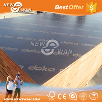 13-Ply Grade A Waterproof Marine Ply / Shutter Ply of Construction Timber